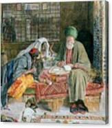 The Arab Scribe Cairo Canvas Print