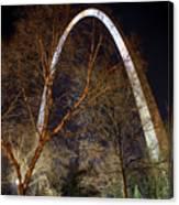 The Arch 3 St Louis Missouri Gateway Arch Art Canvas Print