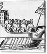 The Argo, 17th Century Artwork Canvas Print