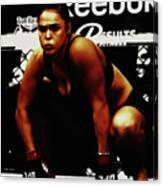 The Arm Collector Rondy Rousey Canvas Print