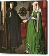 The Arnolfini Marriage Canvas Print