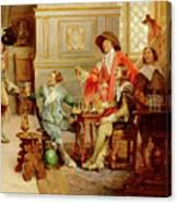 The Arrival Of D'artagnan Canvas Print