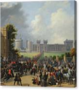 The Arrival Of Louis-philippe Canvas Print