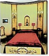 The Art Deco Bedroom Canvas Print