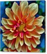 The Art In Flowers 2 Canvas Print