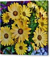 The Art In Flowers 5 Canvas Print