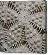 The Art Of Crochet  Canvas Print