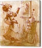 The Artist Canvas Print
