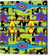 The Arts Of Textile Designs #28 Canvas Print