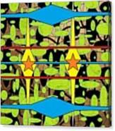 The Arts Of Textile Designs #3 Canvas Print