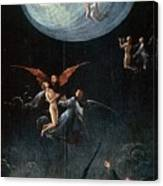 The Ascent Of The Blessed Hieronymus Bosch Canvas Print
