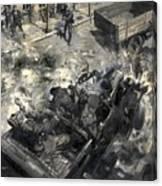The Assassination Of Reinhard Heydrich Canvas Print
