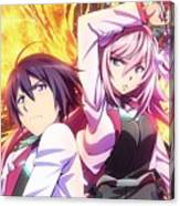 The Asterisk War The Academy City On The Water Canvas Print