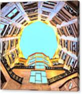 The Atrium At Casa Mila Canvas Print