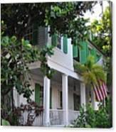 The Audubon House - Key West Florida Canvas Print