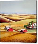 The Aune Farm Canvas Print
