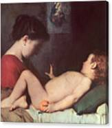 The Awakening Child Canvas Print