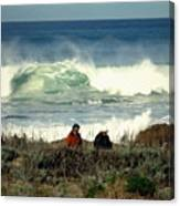 The Awesome Pacific In All Her Glory Canvas Print