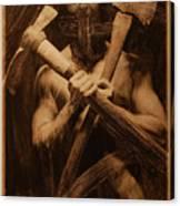 The Axe Man Canvas Print