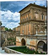 The Back Of The Pitti Palace In Florence Canvas Print