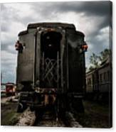 The Back Of The Train Canvas Print