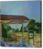 The Backbone Trail Canvas Print