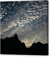 The Badlands At Dawn Canvas Print