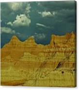The Badlands Canvas Print