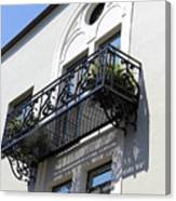 The Balcony Canvas Print