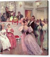 The Ball Canvas Print