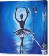 The Ballerina Dance Canvas Print