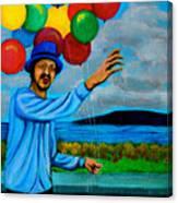 The Balloon Vendor Canvas Print