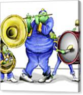 The Band Plays On Canvas Print