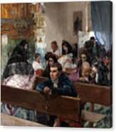 The Baptism Canvas Print