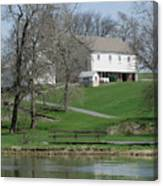 The Barn Along The Tulpehocken Canvas Print