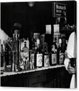 The Bartender Is Back - Prohibition Ends Dec 1933 Canvas Print