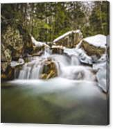 The Basin Cascades Canvas Print