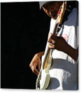 The Bassman Canvas Print