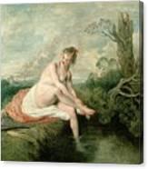 The Bath Of Diana Canvas Print