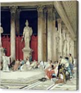 The Baths Of Caracalla Canvas Print
