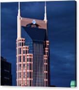 The Batman Building - Nashville Canvas Print