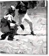 The Batter Canvas Print