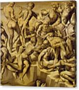 The Battle Of Cascina Canvas Print
