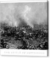 The Battle Of Gettysburg Canvas Print
