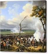 The Battle Of Hanau Canvas Print