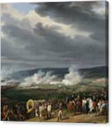 The Battle Of Jemappes Canvas Print