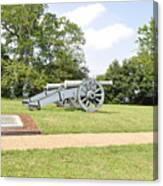 The Battle Of Yorktown Virginia Canvas Print