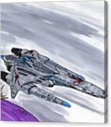 The Battlecruiser Warspite Canvas Print