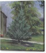 The Bauer Farm Canvas Print