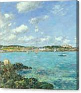The Bay Of Douarnenez Canvas Print
